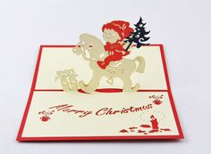 Pine noel card, Christmas greeting card, Xmas pop up card when buy from Charity Christmas Cards, Christmas Greeting Cards, Christmas Greetings, Holiday Cards, Nordic Christmas, Christmas Baby, Xmas, Diy Birthday, Birthday Cards