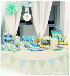 The Little Prince , fairytale, blue, yellow, baptism, party Baptism Party Ideas | Photo 1 of 71 | Catch My Party