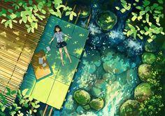 green image …