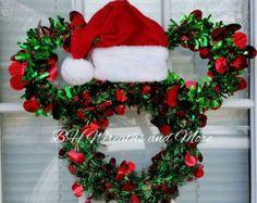 Mickey Mouse Christmas Wreath