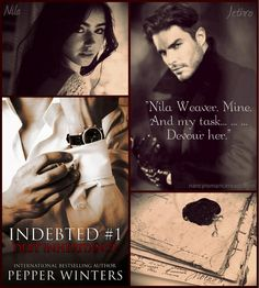 Nancy's Romance Reads: Book Review: DEBT INHERITANCE by Pepper Winters - Giveaway