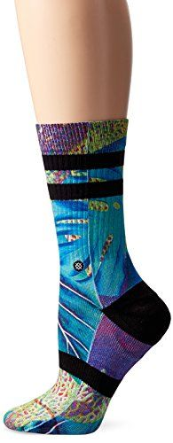 Stance Womens Sea Trip Classic Crew Sock Multi Small *** Continue to the product at the image link.