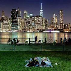 Manhattan skyline, #NYC