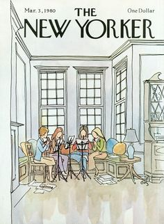 The New Yorker - Monday, March 3, 1980 - Issue # 2872 - Vol. 56 - N° 2 - Cover by : Arthur Getz
