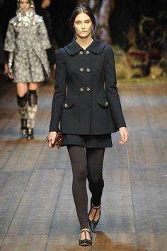 One of my favorite looks from Dolce & Gabbana Fall 2014 Ready-to-Wear Collection