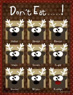 Don't Eat (Santa's Reindeer)!
