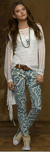 Denim  Supply Asiatic Floral Skinny Jean