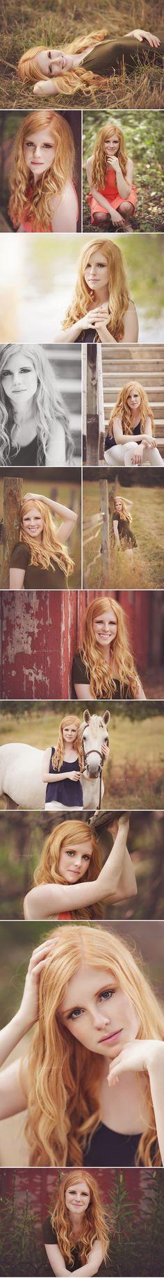 Miss by Marissa McInnis | Michigan Senior Photographer | Anne <3