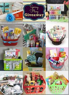 "gift basket ideas. This pin also includes how to make a unique ""Happy Birthday"""