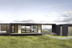 Just because a house is pre-fabricated doesnt mean its always easy to move. But Connect Homes innovation is to make them fit in shipping containers...