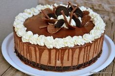 Oreo Cake, Oreo Cheesecake, Healthy Desserts, Easy Desserts, Romanian Desserts, Torte Recepti, Something Sweet, Cheesecakes, Sweet Tooth