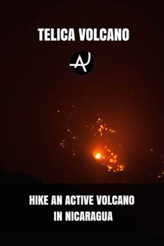 Telica volcano Climb. A great volcano hiking and trekking opportunity available near Leon, in Nicaragua.