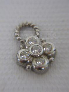 shopgoodwill.com: Judith Ripka Sterling Silver Charm