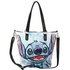 Disney Lilo & Stitch Big Face Bag from Hot Topic. Shop more products from Hot Topic on Wanelo. Lelo And Stitch, Lilo Y Stitch, Cute Stitch, Stitch Cartoon, Disney Stitch, Cute Purses, Purses And Bags, Disney Handbags, Disney Purse