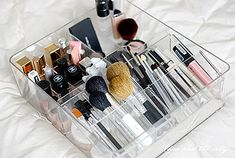 More Makeup Organizer Ideas for a Tidy Display of Beauty Products