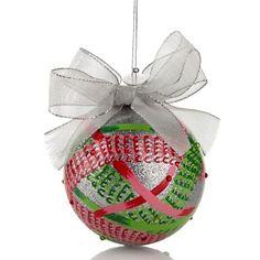 Carleton Varney 2012 Heart Ornament to benefit #stjude #hsn