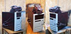 The Black Dragon PC case.