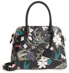 I need this as my Spring bag! Love the floral print! Kate Spade New York Cameron Street Botanical Maise Faux Leather Satchel #katespade #botanical #botanicalprint #floral #womensfashion #springstyle #handbags #nordstrom #affiliate