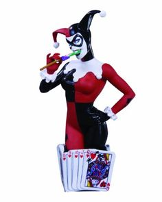 Amazon.com: DC Direct Women of the DC Universe Series 3: Harley Quinn Bust: Toys & Games
