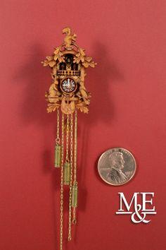 "Dollhouse Miniature Bugle Horn Gold Metal 1 5//8/"" 1:12 Scale Instrument"