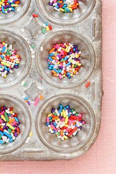sprinkles make me smile!  |  Bakers Royale