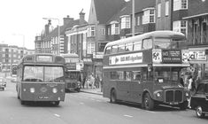 london transport buses in photographs to date Routemaster, London History, Double Decker Bus, Bus Coach, Pin Up Photography, London Bus, London Transport, Coaches, Buses