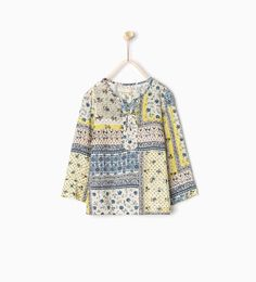 Large floral blouse-SHIRTS AND BLOUSES-GIRL | 4-14 years-KIDS | ZARA United States