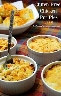 Gluten Free Chicken Pot Pies perfect for those of us on SCD and our whole families! So Yummy! - ThirtySomethingSuperMom #ad