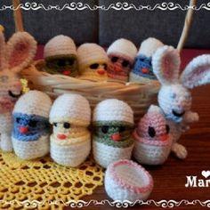 Velikonoční – NÁVODY NA HÁČKOVÁNÍ Anna, Scrappy Quilts