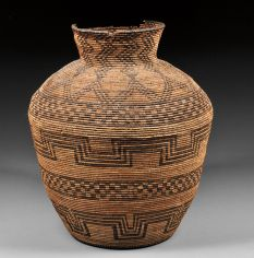 Apache basket olla Native American Baskets, Native American Pottery, Native American Artifacts, Native American History, Native American Indians, Native Americans, Native Art, Native Indian, Indian Baskets