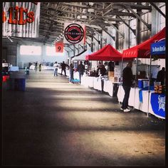 The calm before the storm that is The San Francisco International Beer Festival #devilscanyon #craftbeer #sanfran