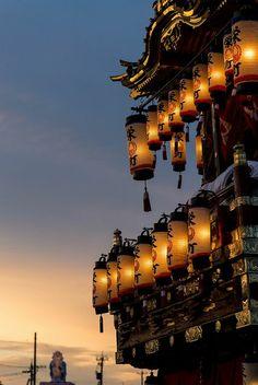 the float for Matsuri festival in Iida, Ishikawa, Japan via flickr༻神*ŦƶȠ*神༺