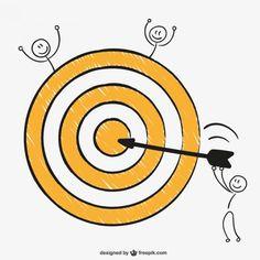 Bullseye Perfect Shot Free Vector