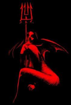 Halloween art that is naughty Ange Demon, Demon Art, Arte Horror, Horror Art, Dark Fantasy Art, Dark Art, Female Demons, Satanic Art, Angel And Devil