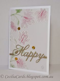Cecilia's Cards - Casing Debby Hughes @altenew @papertreyink