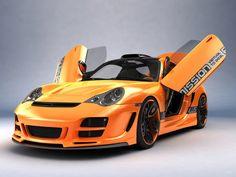 "Photo from album ""Машины"" on Yandex. Porsche 911 996, Porsche Carrera Gt, Vertical Doors, Car Photos, Custom Cars, Exotic Cars, Super Cars, Automobile, Bike"