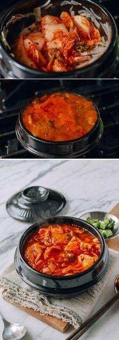 Kimchi Stew (Kimchi Jigae) Recipe by the Woks of Life