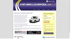 Great little WordPress website that's had more hits that a seasoned boxer who likes lying on the deck. Like the car hire site, great ROI for this. http://www.vanhireliverpool.com