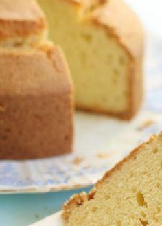 Low FODMAP Recipe and Gluten Free Recipe - Madeira cake http://www.ibs-health.com/madeira_cake.html