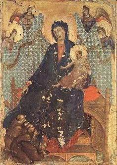 Madonna dei Francescani (1300 circa; Siena, Museo dell'Opera del Duomo)