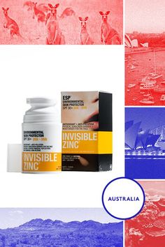 Australia Down Under is subject to some scorching UV rays, so it's no surprise Australia has the highest skin-cancer rates in the world. To help protect themselves from the harsh sun, Aussies choose to slap on Invisible Zinc sunscreen. This product contains ultra-fine particles of zinc inside a silky, lightweight, non-ghosting sunscreen lotion. It's a real favorite among the Bondi Beach locals.