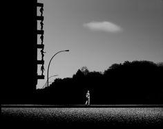 Metafisica del paesaggio urbano - Project EPEA -Amburgo # 01 © Gabriele Croppi