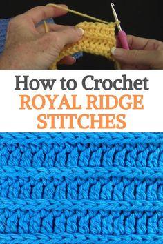 Crochet Instructions, Crochet Tutorials, Crochet Ideas, Crochet Projects, Crochet Patterns, Fast Crochet, Beginner Crochet, Crochet For Beginners, Crochet Dishcloths