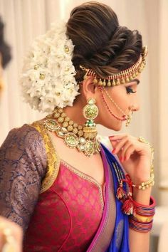 wedding hairstyles indian wedding hairstyles indian 97 Wonderful Indian Bridal Hairstyles Perfect for Your Wedding - Bridal Hair Images, Bridal Hairstyle Indian Wedding, Bridal Hair Buns, Bridal Hairdo, Indian Wedding Hairstyles, Indian Bridal Makeup, Bride Hairstyles, Wedding Updo, Lehenga Hairstyles