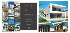 Immobilien Kroatien / Insel Krk / verkaufen / neue moderne Haus mit klaren Linien und raffiniertem Design /Kombination von modernen und mediterranen Stil