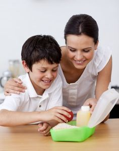 Back to School Ideas and Tips for Home: Kitchen: