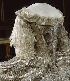 1766 - Corpetto dell'abito di nozze di Sofia Magdalena di Danimarca