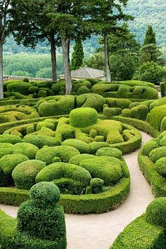 b4f0d398d90ccb123f6deba20384c186 Marqueyssac Gardens in garden art  with Picture garden france