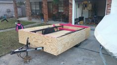 10×4 trailer to 10×7 parade float