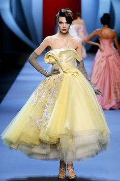 dior spring couture 2011 - every woman should own a dress like this at least once in her life...sigh